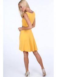 Dámske žlté šaty 1781