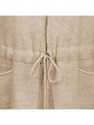 Dámsky dlhý sveter 116ART, béžový