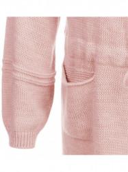 Dámsky dlhý sveter 116ART, ružový #1