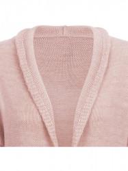 Dámsky dlhý sveter 116ART, ružový #2