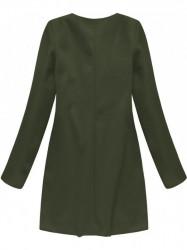 Dámsky khaki prechodný kabát 172/1ART