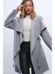 Dámsky prechodný kabát 1742, svetlo sivý