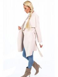Dámsky prechodný kabát 17421, béžový