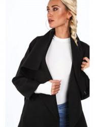 Dámsky prechodný kabát 17421, čierny