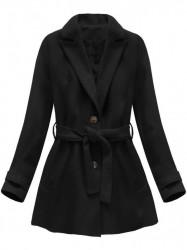 Dámsky prechodný kabát 18808, čierny