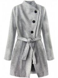 Dámsky prechodný kabát 196ART, sivý