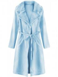 Dámsky prechodný kabát 22593, modrý