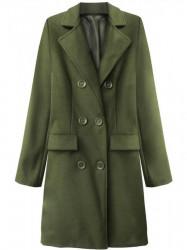 Dámsky prechodný kabát 22791, khaki