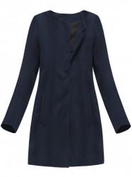 Dámsky tmavo modrý prechodný kabát 173ART