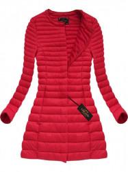 Dlhšia červená bunda, prechodná (X7148X)