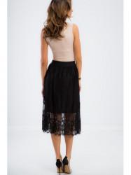 Elegantná čierna sukňa