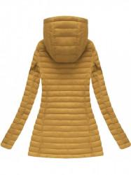 Horčicová prechodná bunda 7218BIG