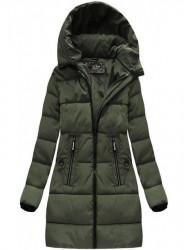 Khaki dámska zimná bunda 7756 #1