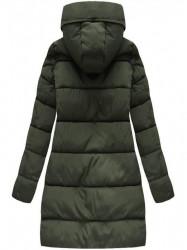 Khaki dámska zimná bunda 7756 #2