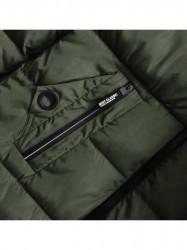 Khaki dámska zimná bunda 7756 #3