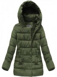 Khaki prešívaná zimná bunda B3572 #1