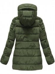 Khaki prešívaná zimná bunda B3572 #2