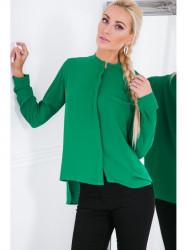 Košeľa MP28539, zelená