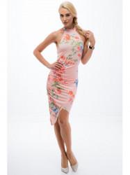 6325edf809c5 Lososové dámske šaty - Locca.sk