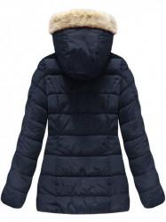 Modrá dámska zimná bunda B1051 #1