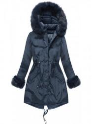 Modrá obojstranná zimná bunda PM7210