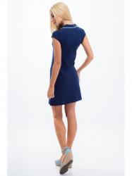 Modré šaty #1