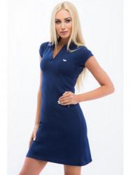 Modré šaty #2