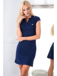 Modré šaty #4