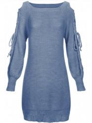 Modrý dámsky sveter 113ART