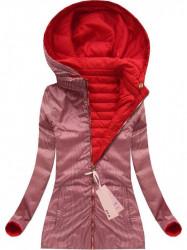 Obojstranná prechodná bunda (W617) červená