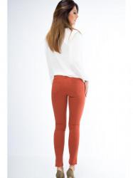 Oranžové dámske nohavice MP44310