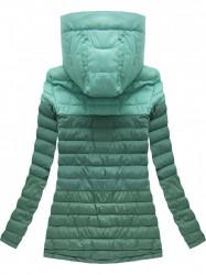 Prechodná bunda ombre zelená (W618)