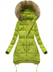 Prešívaná bunda, zelená 3606W
