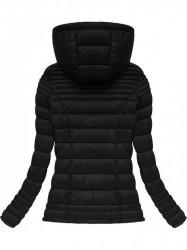 Prešívaná prechodná bunda 7116BIG, čierna