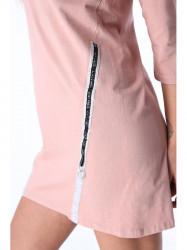 Púdrové dámske šaty 3778