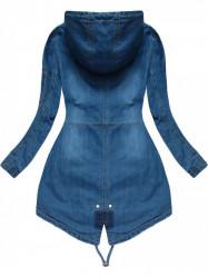 Riflová bunda W514, tmavo modrá