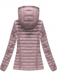 Ružová prechodná bunda B1008