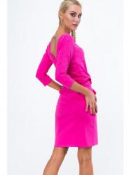 Ružové šaty 9729