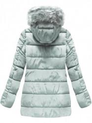 Sivá prešívaná zimná bunda B3572