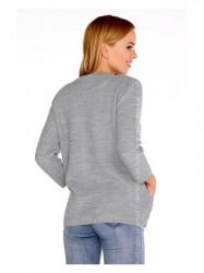 Sivý dámsky sveter Hetiena