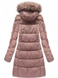 Staroružová dámska zimná bunda 7702