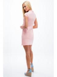 Svetloružové šaty
