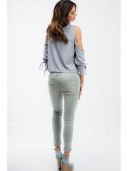 Svetlozelené nohavice