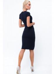 Tmavomodré šaty 3381