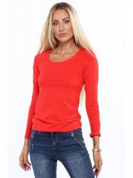 Tričko s dlhým rukávom červené MP12392