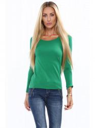Tričko s dlhým rukávom zelené MP12392