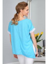 Tyrkysové, moderné tričko