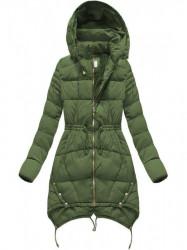 Zelená dámska zimná bunda 3602W #1