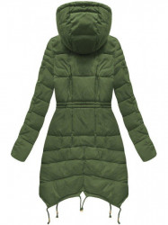 Zelená dámska zimná bunda 3602W #2