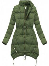 Zelená dámska zimná bunda 3602W #3